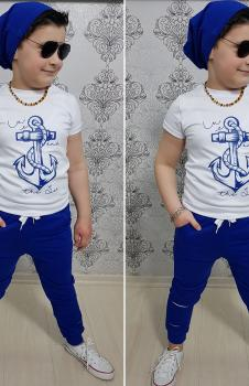 Mavi 3lü Erkek Çocuk Takım UUB00M1
