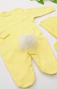 Bebek Tulum 3lü set Sarı