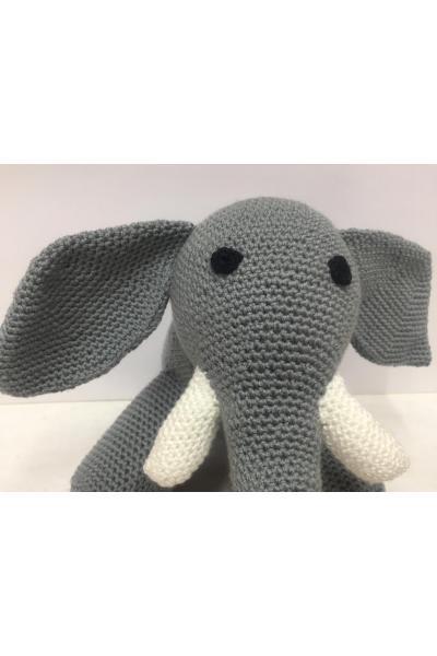 Amigurumi oyuncak fil - Oyuncak 437702 | zet.com | 600x400