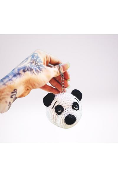 Amigurumi Renkli Panda Anahtarlık Yapımı | Amigurumi modelleri ... | 600x400